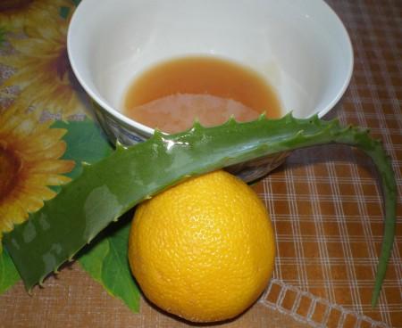 алое с лимоном и медом оригинальное название,все