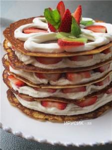 pankeyki recept 225x300 Вкусные и быстрые блюда на завтрак
