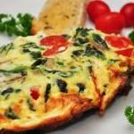 pecept omleta 150x150 Вкусные и быстрые блюда на завтрак