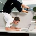 Йога за работой