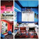 Этно-стиль для интерьера однокомнатной квартиры.