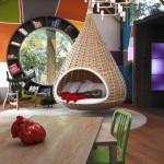 Авангардный стиль однокомнатной квартиры