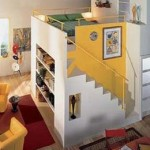 Второй этаж в однокомнатной квартире.