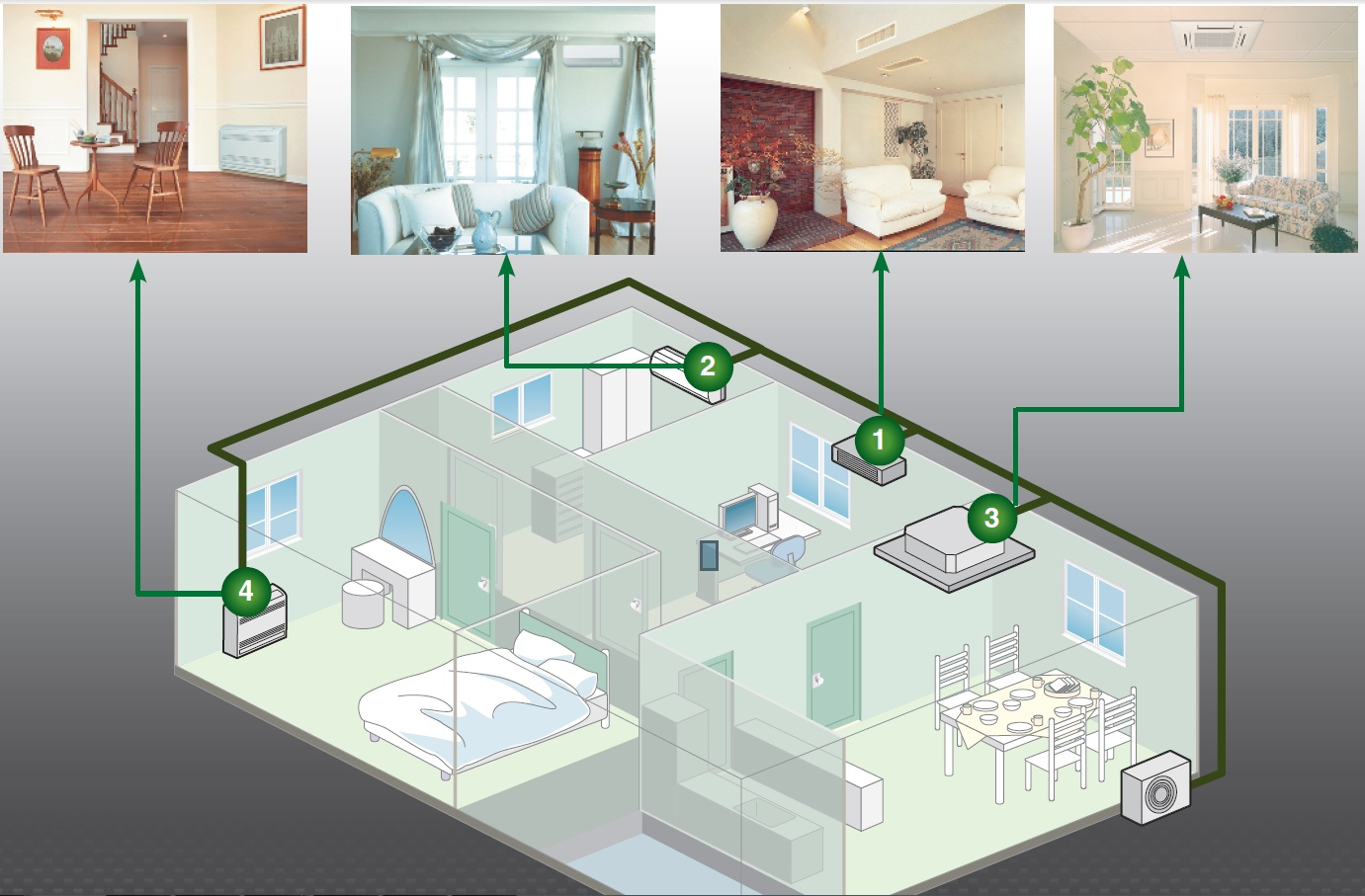 Как сделать кондиционирование в квартире