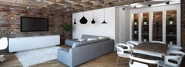 Минимализм - Нью-Йоркский стиль в однокомнатной квартире.