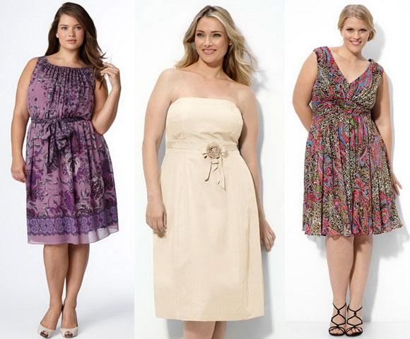 Платья неизменного покроя для полных женщин