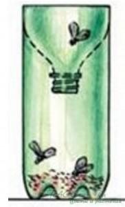 Мухоловка своими руками из пластиковых бутылок.