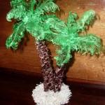 Пальмы из пластиковых бутылок своими руками.