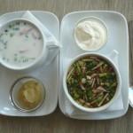 Prigotovlenie okroshki 150x150 Вкусные и быстрые блюда на завтрак