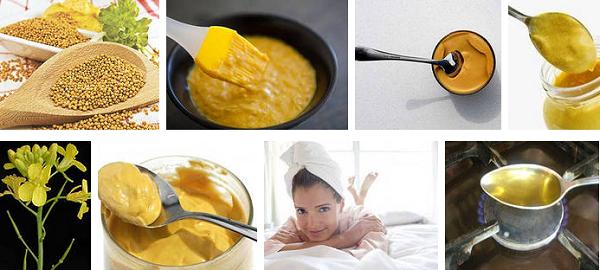 Домашняя маска для роста волос с горчицей