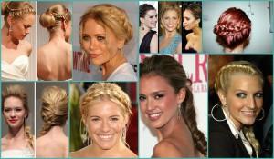 Стильные причёски знаменитостей