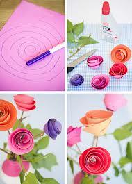 Создание бумажного цветка