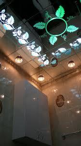Декор стеклянного потолка