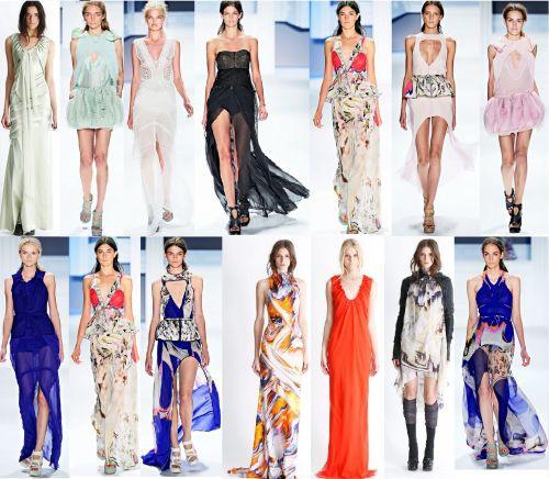 Воздушные сарафаны и платья
