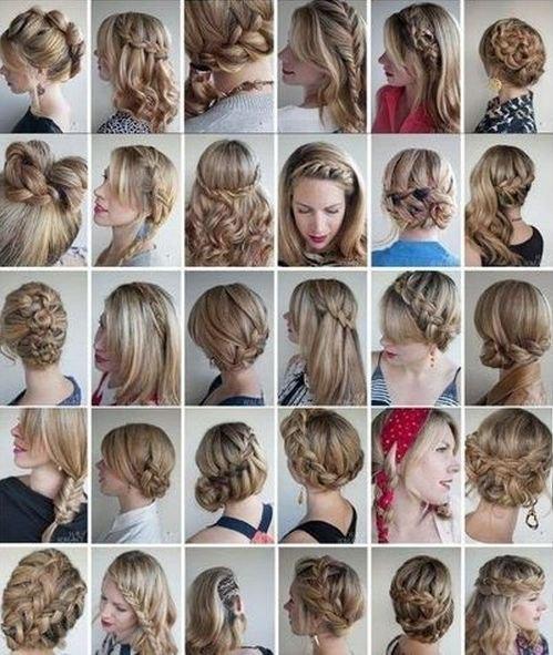 Разнообразие причёсок в домашних условиях
