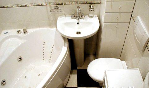 Компактная ванная комната 6х2 кв. м.