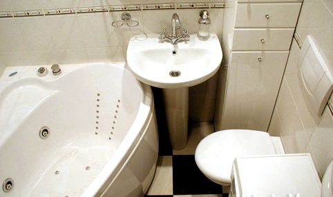 dizajn vannoj komnaty ploshhad 4 kv m 6 2 Дизайн маленькой ванной комнаты