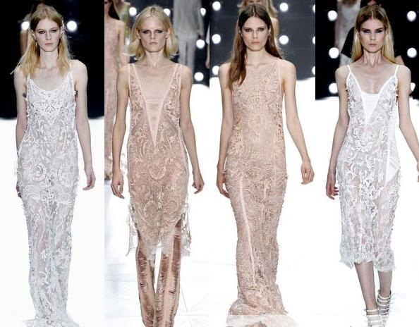 Разрезные платья