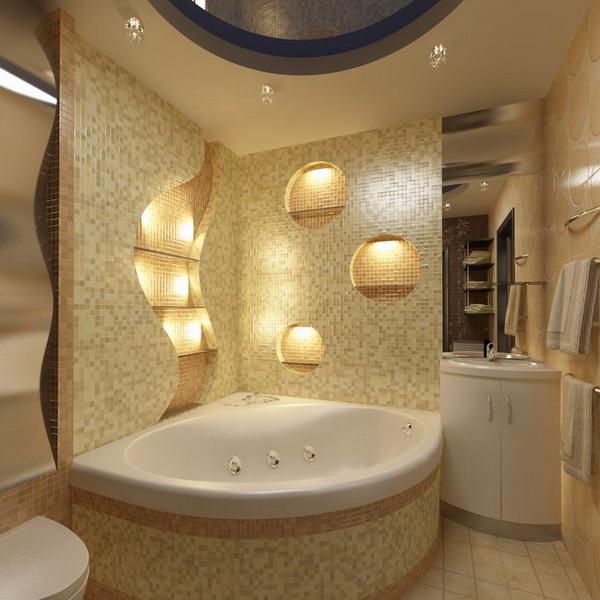 vanna2 Дизайн маленькой ванной комнаты