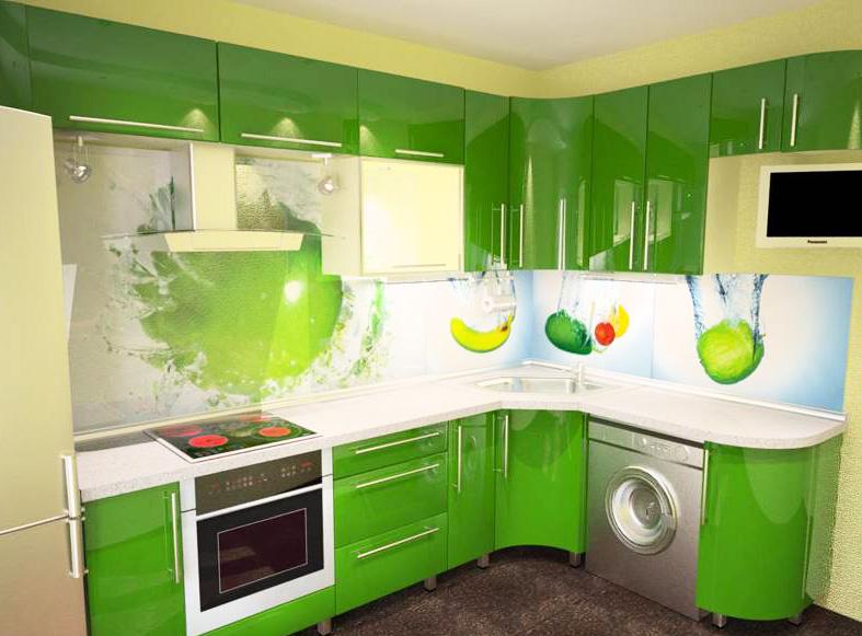 Цвет в дизайне кухни