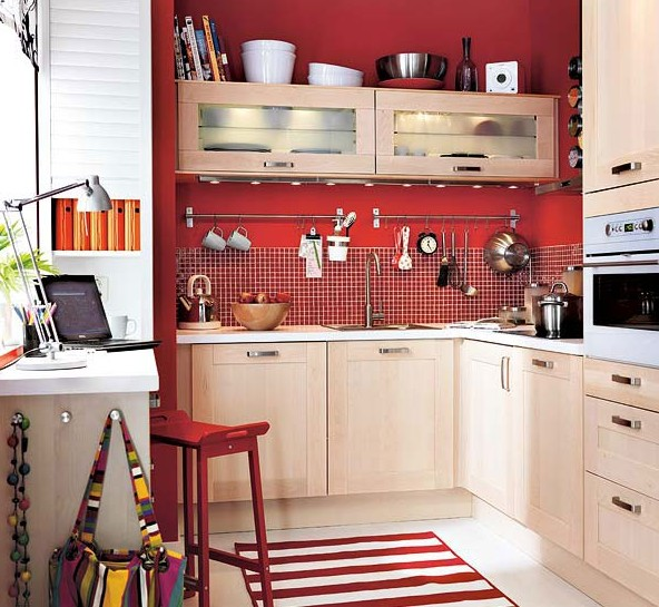 кухня мебель фото для маленькой кухни