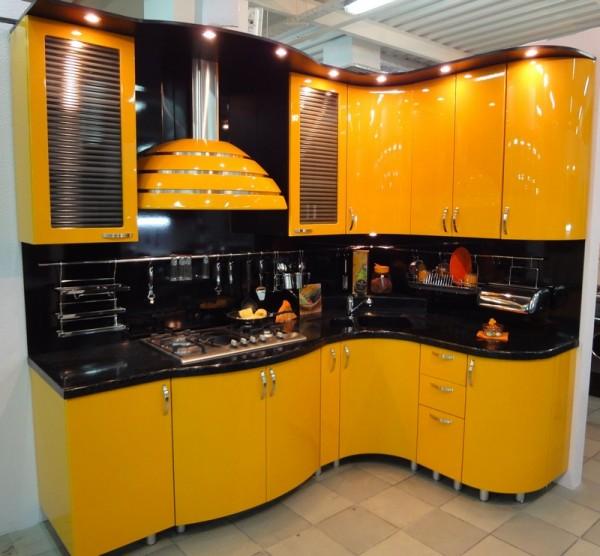 Стильная кухня для смелых
