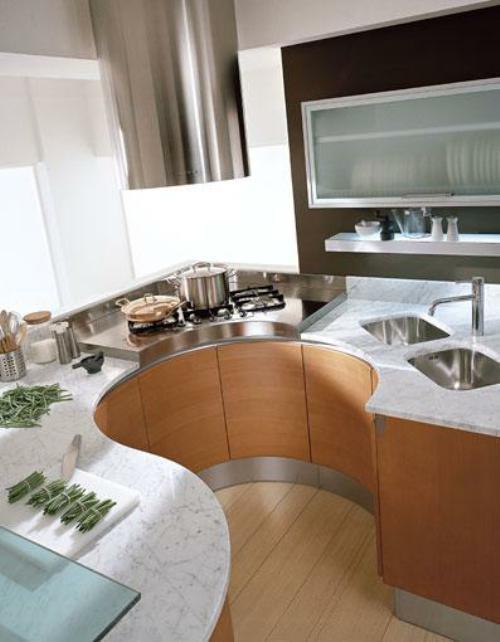 Мебель для мини-кухни в  хрущёвке