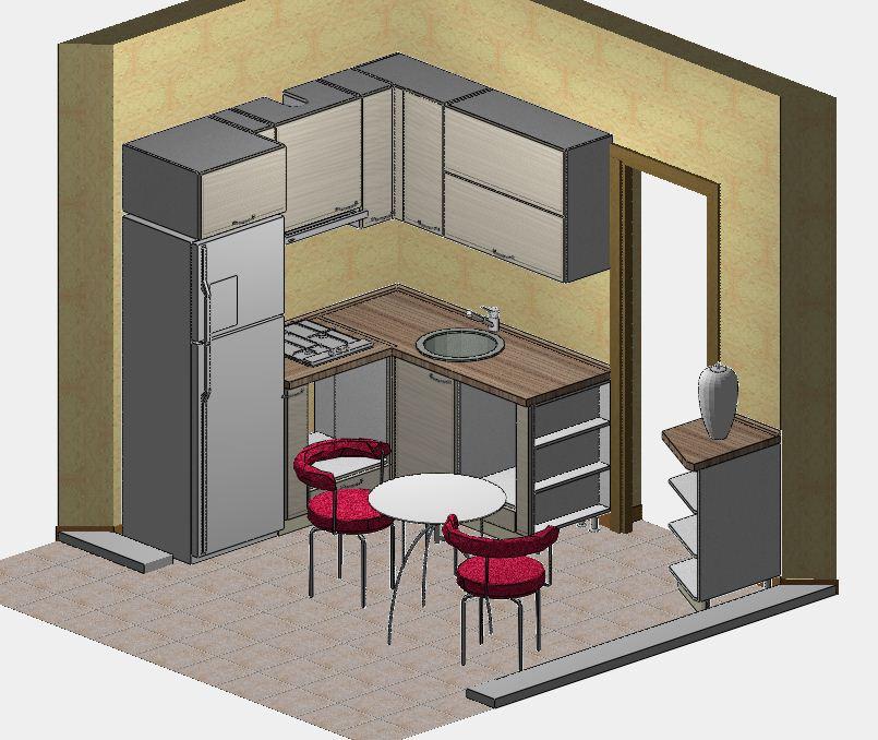 Проект мини-кухни