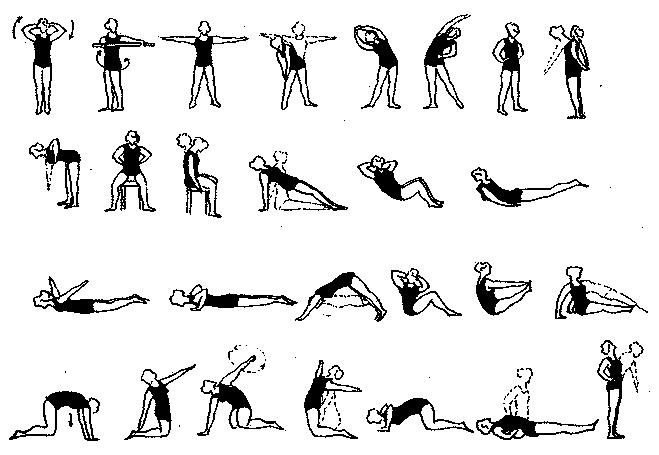 Специальные упражнения при лечении грыжи позвоночника