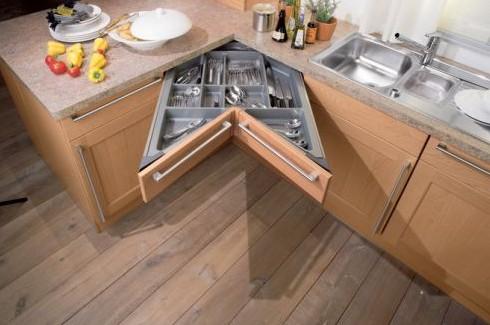 Универсальная мебель для маленьких кухонь