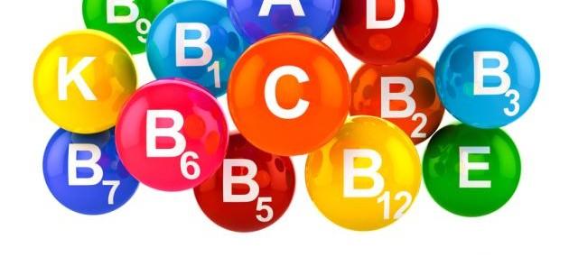 Витамин Е, А, С, PP и витамины группы В летом