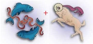 Отношения Рыб с Овном