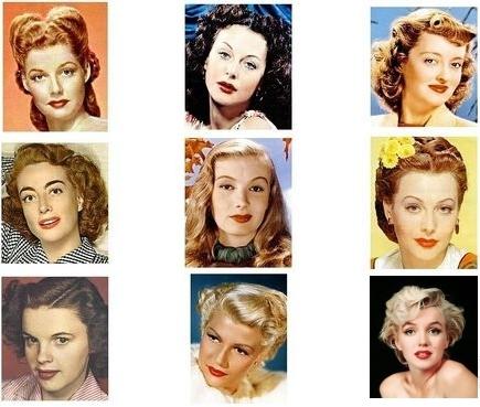 Причёски 50х-60х годов