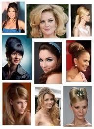 Модные причёски 60-х годов.