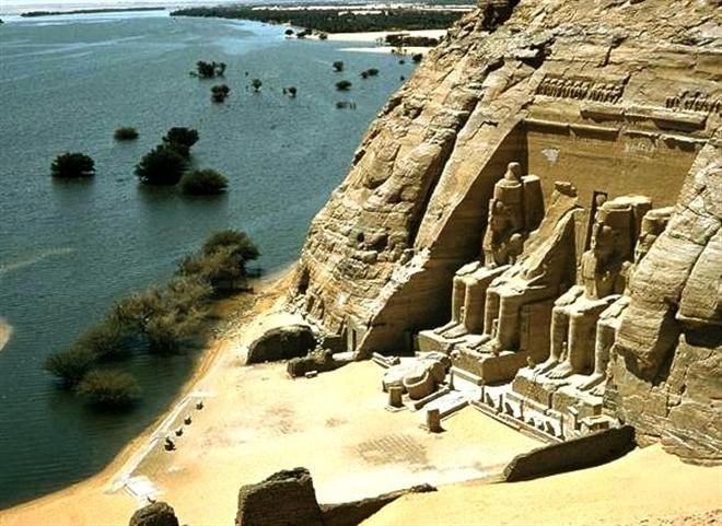 Египет скала Абу-Симбел
