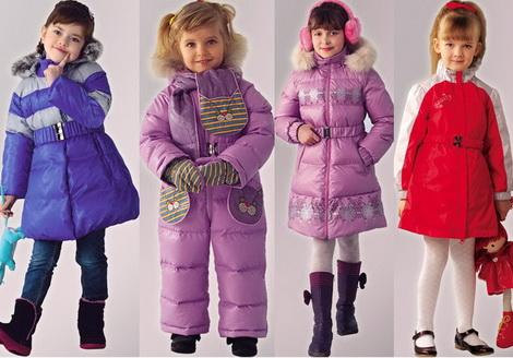 Модные куртки для девочек