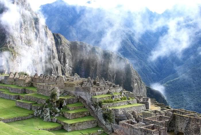 Одно из самых красивых мест в мире - Мачу Пикчу