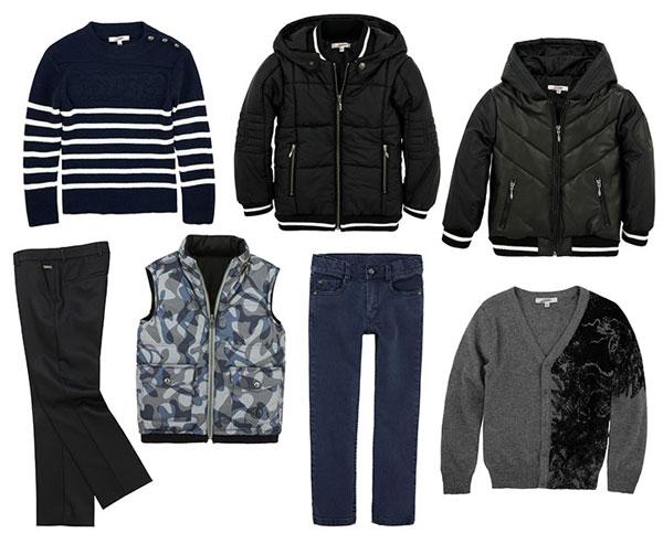 Классическая одежда для мальчиков на осень и зиму