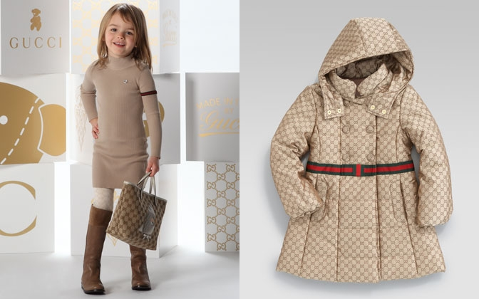 Стильная одежда на осень для маленьких модниц