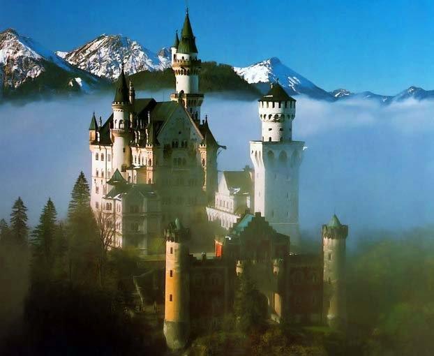 Красивые замки в Германии