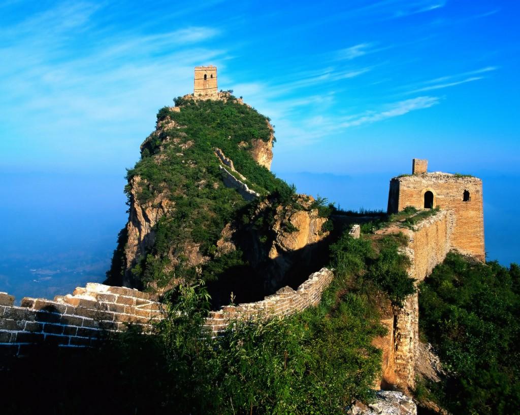 Красоты Великой Китайской стены