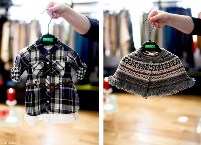 Модные расцветки в детской одежде на осень и зиму