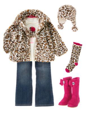 Модный стиль в оснней одежде для девочек