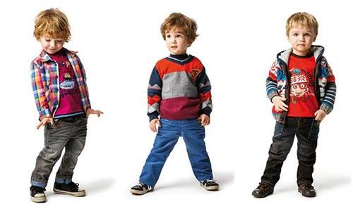 Стильная одежда для малышей
