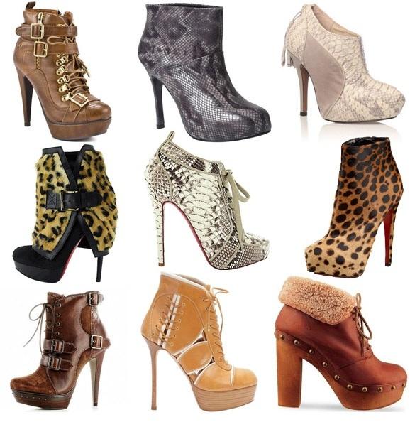 Обувь для встречи Нового Года