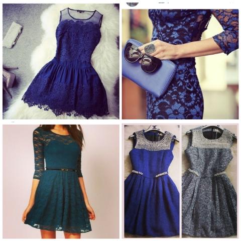 Кружевные платья для встречи 2014 года