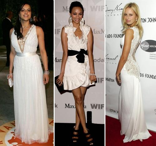 Красивые белые платья для встречи Нового Года