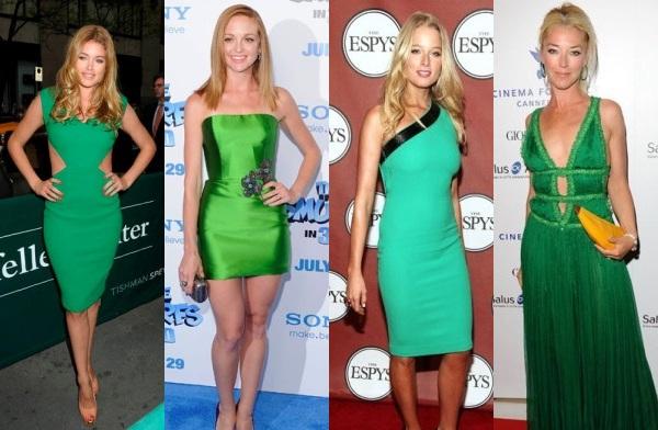"""Зелёные платья для встречи года """"Зелёной"""" лошади"""