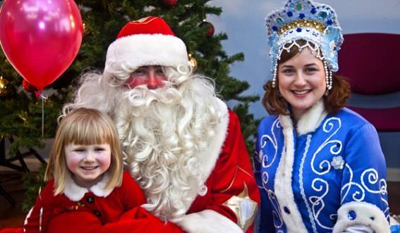 Фотосессия с Дед Морозом и Снегурочкой